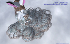 GizzA - Ice Leo Gown