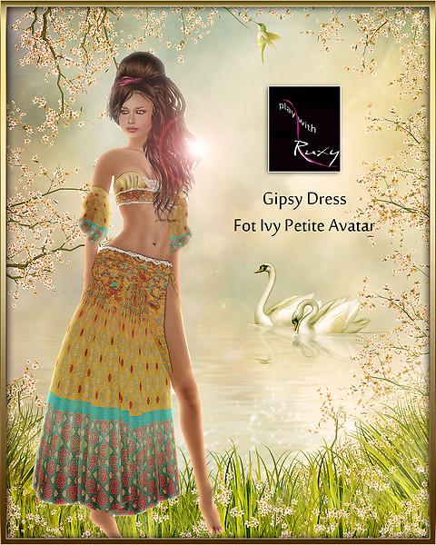 Gipsy dress for Ivy Petite mesh avatar