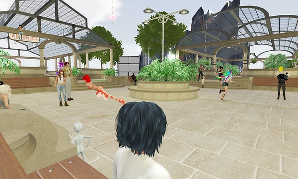 after all these years, this is still a great spot for catching  random cool avatars and convo - torley.olmstead