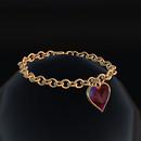 QT Fem Valentine Chain Bracelet.