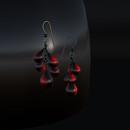 QT Blood droplet earrings vendor image