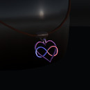 QT male Infinite love pendant vendor image