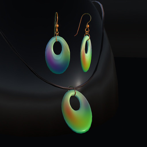 QT Jade rainbow Offset set vendor image