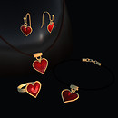 QT Red heart Set - vendor image