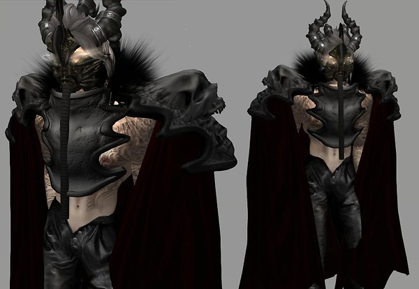 Customizing the cloak.