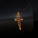 QT Red & Gold Blood Cross Gold