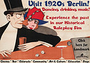 1920s Berlin project poster