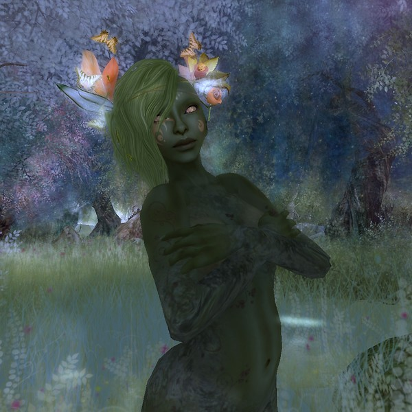 To Catch a Dryad Bathing