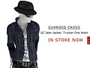 GC Jean Jacket: Trucker (Rigid/Rigid Black/One Wash) - POP Slides