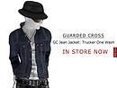 GC Jean Jacket: Trucker (Rigid/Rigid Black/One Wash) - POP Slides