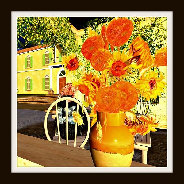 Van Gogh Vase of Sunflowers