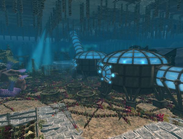 Nemo's Underwater Base