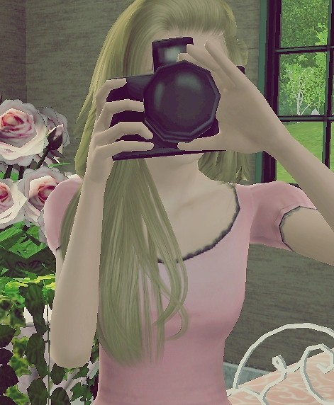 You pose and I take a picture of your beautiful face sweetheart. :)