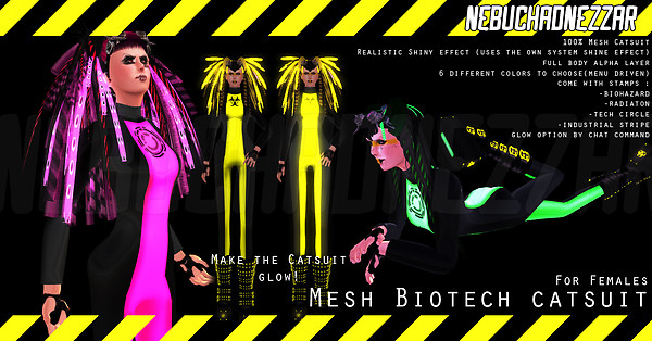 NDN - Mesh Biotech Catsuit for Females