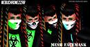 Cybergoth Mesh Facemask!