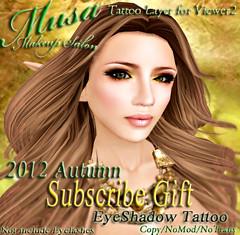 !Musa! Gift-2012 Autumn ad