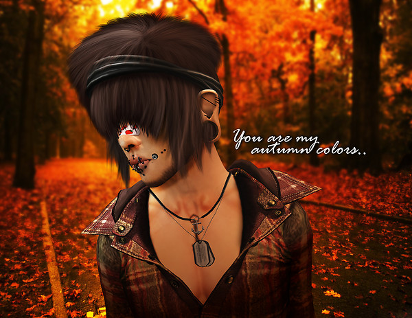 You are my autumn colors