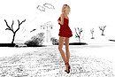 Prism Monica - Red &amp; Black full body - Lea Cica_003