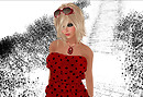 Prism Monica - Red & Black closeup - Lea Cica_002