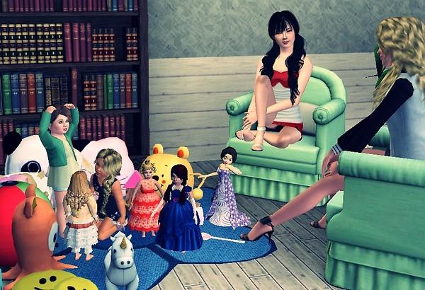Sweet, Miranda, Rinalda & Ana