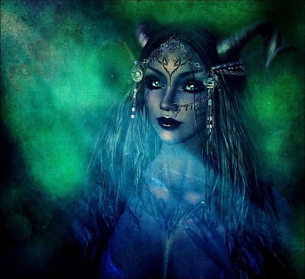 Freyja, The Horned Goddess