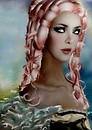 Pink Venetian girl