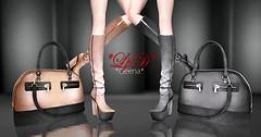 Geena Boots and Bag (Mesh)