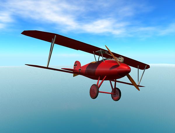 Albatros D.Va - Red Baron