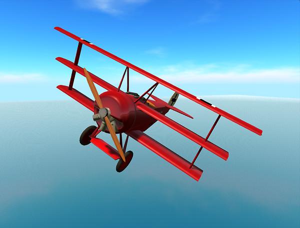 Fokker Dr.1 - Red Baron