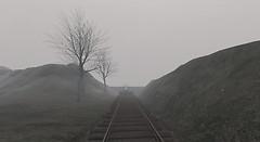 misty train - Taken at Nostos deer