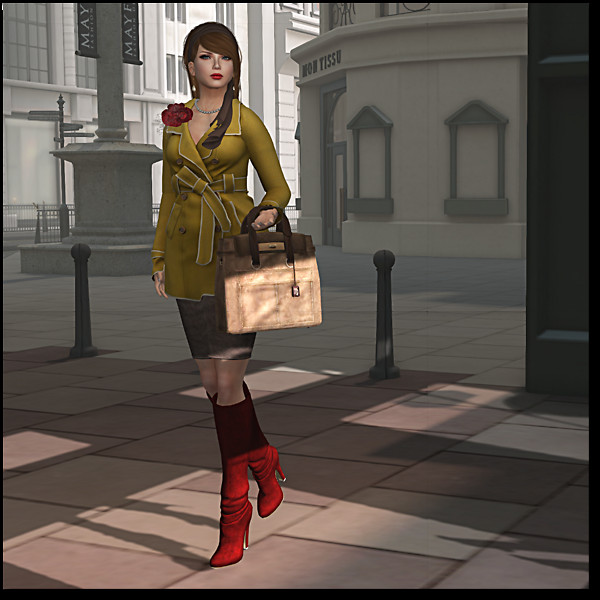 I shopped at Ann Taylor in SL 3