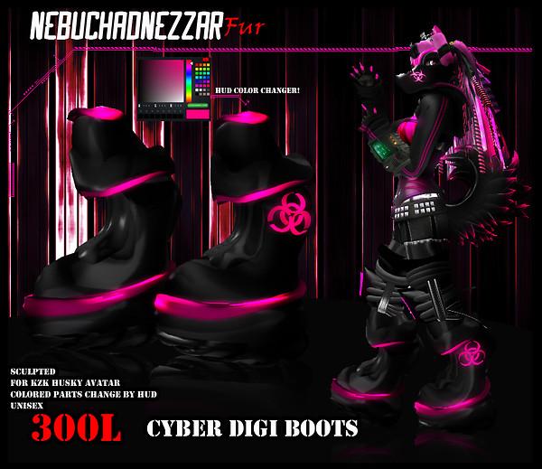 NDN - Cyber Digi Boots