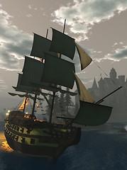 Sailing around Winterfell