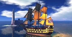 Sailing around the Blake Sea
