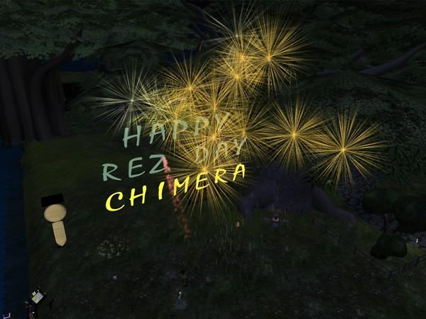 Happy Rez Day Chimera! - chimera.cosmos