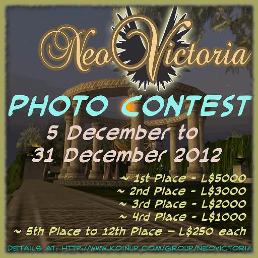 NeoVictoria Photo Contest 2013 Calendar ~ Amilary 512x512