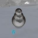QT Snowman foggy