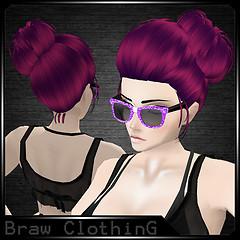 [B] Hair Rati Lilac