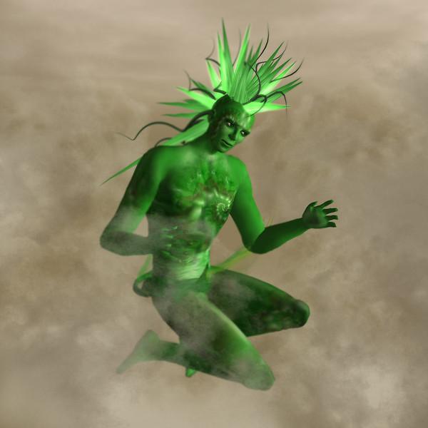 Green Lagoon Man