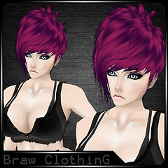 [B] Hair July Lilac