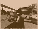 The Red Baroness Before her Albatros DVa2