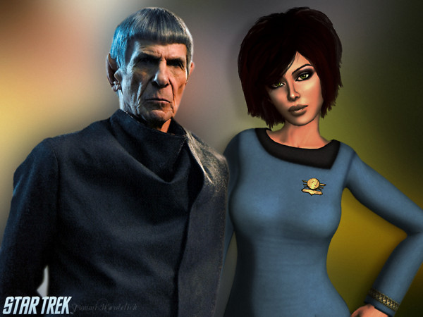 Star Trek - Spock and Nerys