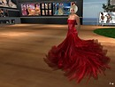 SL Sartorialist -- shara86 in an Augusta Creation dress