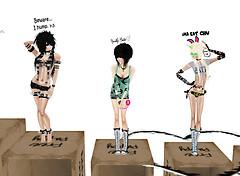 box dolls
