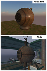 Copied diving bell