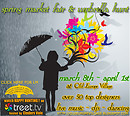 The Spring Market Fair and Umbrella hunt