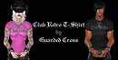 Club Retro T-Shirt by Guarded Cross - Concept Board