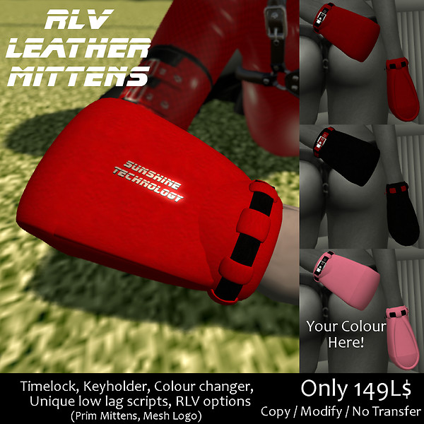 ST Leather Mittens 1024