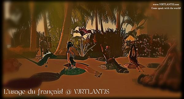 L'usage du francais! @ VIRTLANTIS (Paradise Island) - 20 Feb. 2013