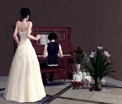 My love, my pianist.